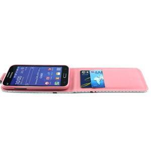 Flipové pouzdro na mobil Samsung Galaxy Core Prime - sovička - 3