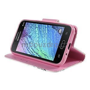 Zapínací pouzdro pro Samsung Galaxy J1 - motýlci - 3