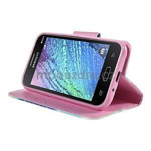 Zapínací pouzdro pro Samsung Galaxy J1 - snění - 3