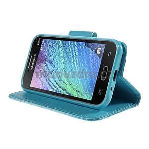 Zapínací pouzdro pro Samsung Galaxy J1 - vodní květina - 3