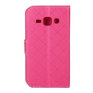 Elegantní pouzdro na Samsung Galaxy J1 - rose - 3