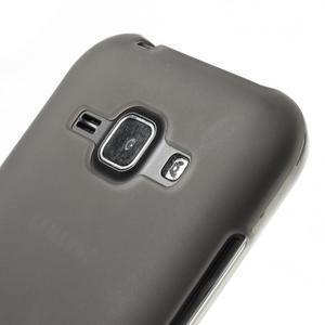Šedý matný kryt na Samsung Galaxy J1 - 3