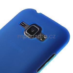 Modrý matný kryt na Samsung Galaxy J1 - 3