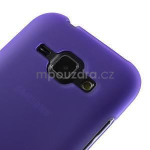 Fialový matný kryt na Samsung Galaxy J1 - 3