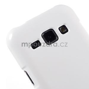 Bílý gelový obal na Samsung Galaxy J1 - 3