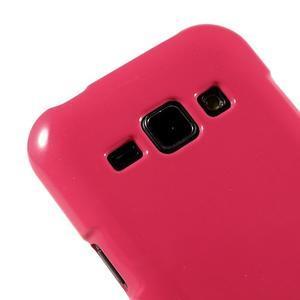 Rose gelový obal na Samsung Galaxy J1 - 3