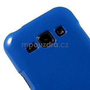 Modrý gelový obal na Samsung Galaxy J1 - 3