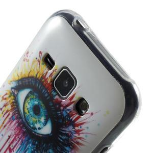 Gelový kryt na Samsung Galaxy J1 - barevné oko - 3