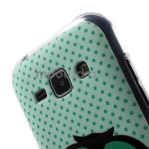 Gelový kryt na Samsung Galaxy J1 - sova - 3