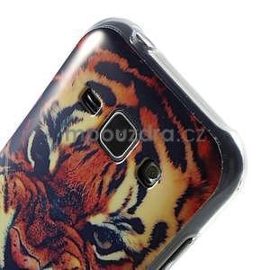 Gelový kryt na Samsung Galaxy J1 - tygr - 3