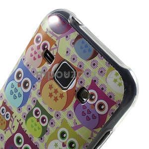 Gelový kryt na Samsung Galaxy J1 - banda soviček - 3