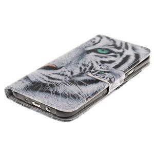 Standy peněženkové pouzdro na Samsung Galaxy J5 - tygr - 3
