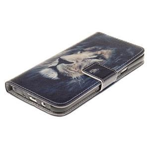 Standy peněženkové pouzdro na Samsung Galaxy J5 - lev - 3