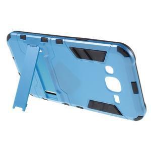 Odolný kryt 2v1 se stojánkem na Samsung Galaxy J5 - modrý - 3
