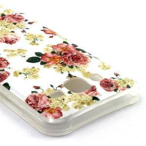 Imda gelový obal na mobil Samsung Galaxy J5 - květiny - 3