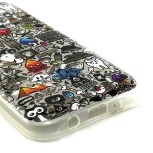 Imda gelový obal na mobil Samsung Galaxy J5 - symboly - 3