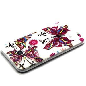 Trasnparent gelový obal na Samsung Galaxy J5 - nádherný motýl - 3