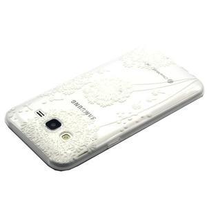 Trasnparent gelový obal na Samsung Galaxy J5 - pampeliška - 3