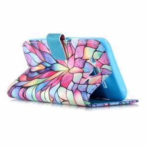 Pictu peněženkové pouzdro na Samsung Galaxy J5 - barevné lístky - 3