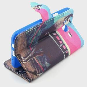 Knížkové pouzdro na mobil Samsung Galax J5 - lama - 3