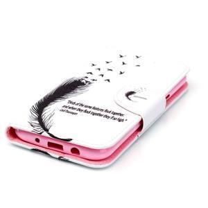 Emotive pouzdro na mobil Samsung Galaxy J5 - ptačí peříčko - 3