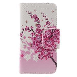 Dairy peněženkové pouzdro na Samsung Galaxy J5 - květoucí větvička - 3