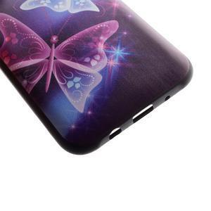 Jelly gelový obal na mobil Samsung Galaxy J5 - kouzelní motýlci - 3
