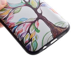 Jelly gelový obal na mobil Samsung Galaxy J5 - malovaný strom - 3