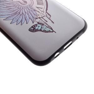 Jelly gelový obal na mobil Samsung Galaxy J5 - antické hodiny - 3
