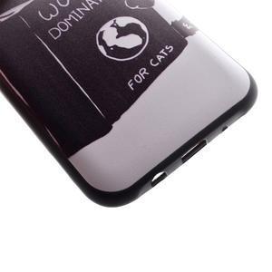 Jelly gelový obal na mobil Samsung Galaxy J5 - kočička čte - 3