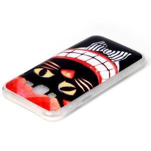 Softy gelový obal na mobil Samsung Galaxy J5 - kocour - 3