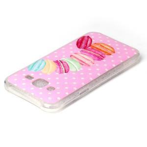 Softy gelový obal na mobil Samsung Galaxy J5 - makrónky - 3