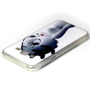 Softy gelový obal na mobil Samsung Galaxy J5 - kočička - 3