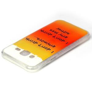 Softy gelový obal na mobil Samsung Galaxy J5 - drink - 3