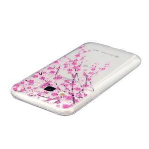Trans gelový obal na mobil Samsung Galaxy J5 - kvetoucí třešeň - 3