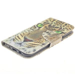 Standy peněženkové pouzdro na Samsung Galaxy J5 - gepard - 3