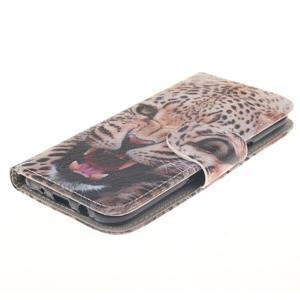Standy peněženkové pouzdro na Samsung Galaxy J5 - leopard - 3