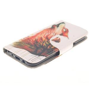 Standy peněženkové pouzdro na Samsung Galaxy J5 - lesní vlk - 3