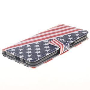 Style peněženkové pouzdro na Samsung Galaxy J5 (2016) - US vlajka - 3