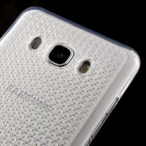 Diamonds gelový obal mobil na Samsung Galaxy J5 (2016) - transparentní - 3