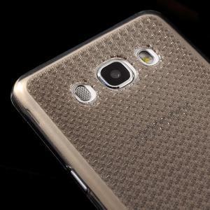 Diamonds gelový obal mobil na Samsung Galaxy J5 (2016) - šedý - 3