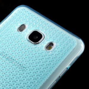 Diamonds gelový obal mobil na Samsung Galaxy J5 (2016) - modrý - 3