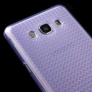 Diamonds gelový obal mobil na Samsung Galaxy J5 (2016) - fialový - 3