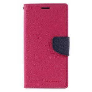 Diary PU kožené pouzdro na mobil Samsung Galaxy J5 (2016) - rose - 3