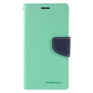 Diary PU kožené pouzdro na mobil Samsung Galaxy J5 (2016) - azurové - 3