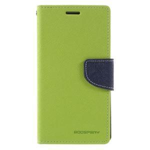 Diary PU kožené pouzdro na mobil Samsung Galaxy J5 (2016) - zelené - 3
