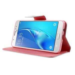 Nice peněženkové pouzdro pro Samsung Galaxy J5 (2016) - ptačí strom - 3