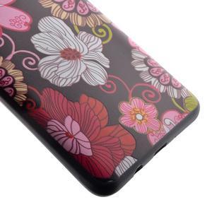 Casis gelový obal na mobil Samsung Galaxy J5 (2016) - květiny - 3