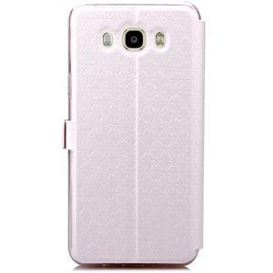 Stars pouzdro s okýnkem na mobil Samsung Galaxy J5 (2016) - bílé - 3
