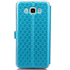 Stars pouzdro s okýnkem na mobil Samsung Galaxy J5 (2016) - modré - 3
